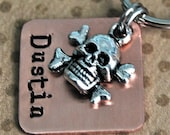 Little Skully small pet tag
