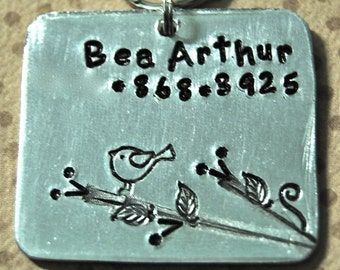Nature   Pet Id Tag