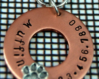 Perfect Paw Heavy Duty Copper Pet Tag