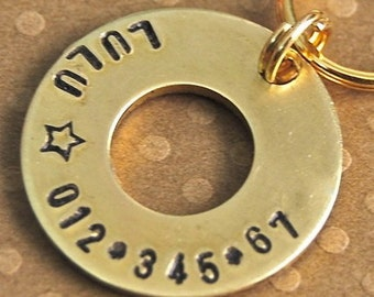 Brass Lifesaver for your Pooch