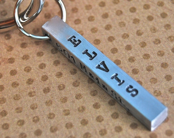 Dog Tag Perfect Aluminum Bar Id tag 4 sides to customize any way you wish