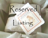 Reserved Listing for Zoby