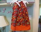 Girls floral Pillowcase dress 3T ONLY 1 LEFT