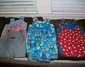 Reserved Lot of 9 Rompers for mzshop36