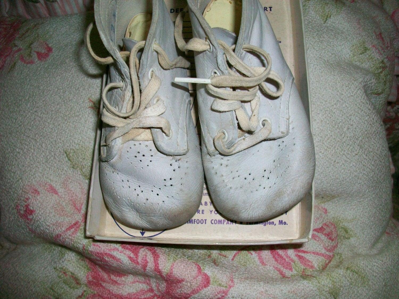 Vintage Pair Trimfoot Baby Deer Shoes