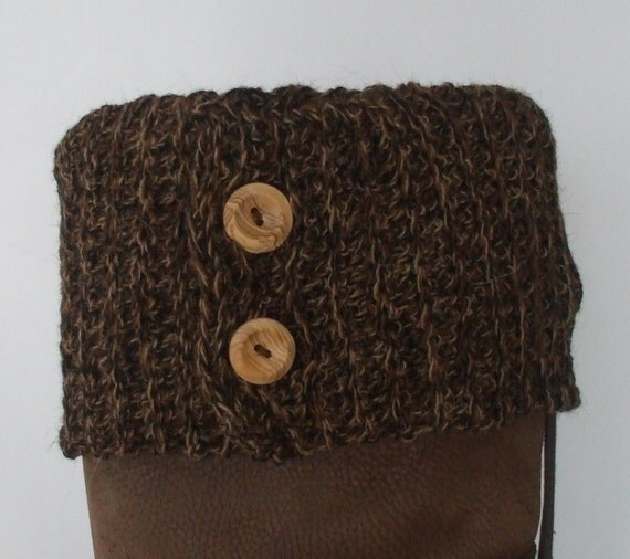 Crochet pattern for a BUTTON BOOT TOPPER / Boot Cuff by ...