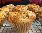 Vegan Nuts and Cranberries Gift Mega Muffin Start Your Day Off Right Crazy Good
