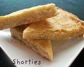 Vegan Valentine  Buttery Shortbread Cookies Perfect Gift and Great for Birthday or Surprise Treat