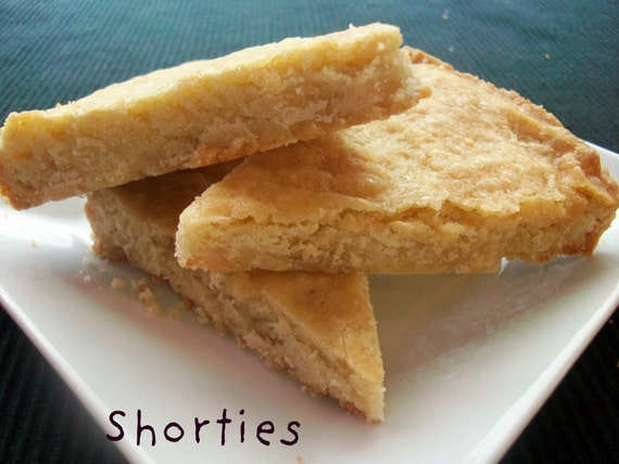 Vegan Buttery Shortbread Cookies Perfect Gift and Great for Birthday or Surprise Treat forVegan Dorm