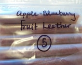 Apple Blueberry Fruit Leather-SIMPLY THE BEST-