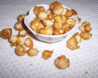 Sweet Ambrosia-Glazed Macadamia Nuts with Fleur de Sel-6 ounces of Goodness