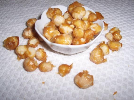 Sweet Ambrosia-Glazed Macadamia Nuts with Fleur de Sel-5 ounces of Goodness