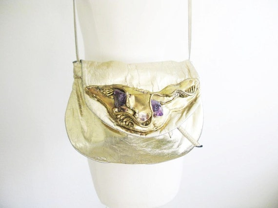 Vintage 1970's Copa Collection in Metallic Gold