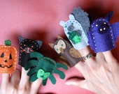 Brown Owl. Brown Owl. Fall Color Learning Finger Puppets. (6 pieces)