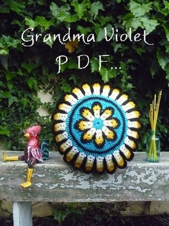 Grandma Violet Cushion pdf