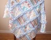 My Little Puppy Baby Blanket - Raggedy Quilt