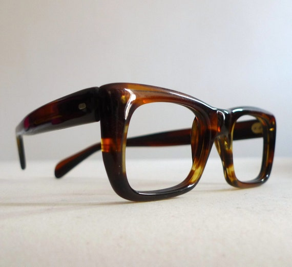 Frame Italy Tortoise Shell Eyeglasses, Classic Mad Men Birth Control Frames, New Old Stock