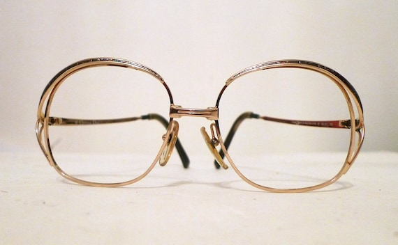 Big Unisex Christian Dior Glitter Eyeglass Frames MOD CD