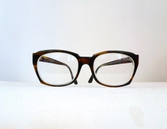 Big Tortoise Shell Eyeglasses Frames by Titmus / Mad Men New Wave Director Sunglasses