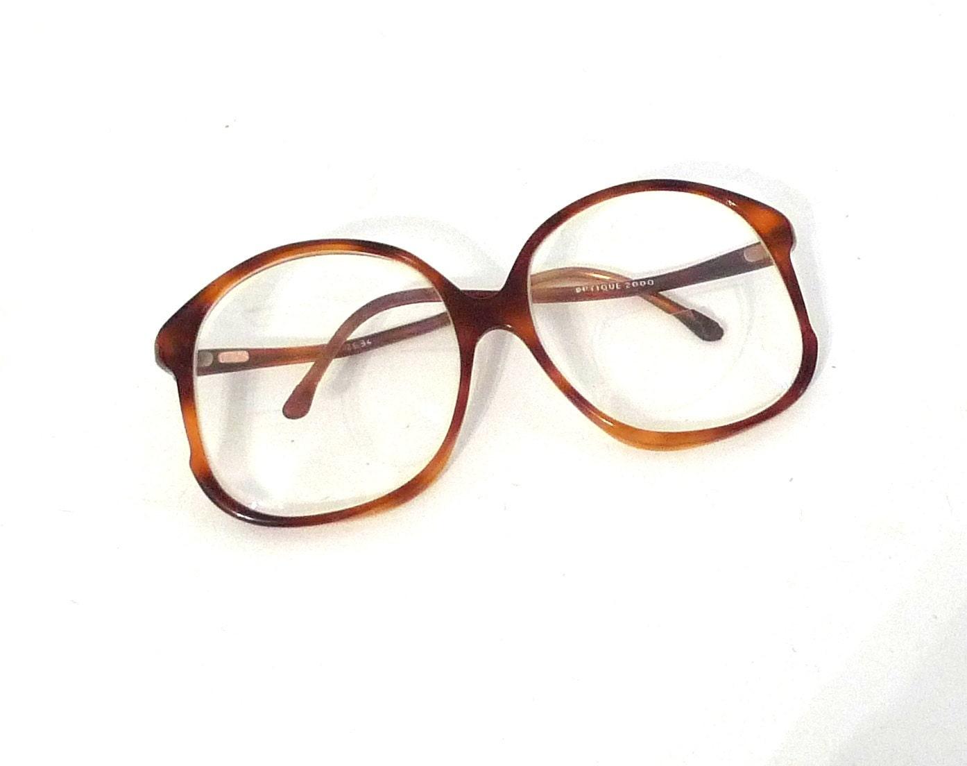 filos horn rimmed preppy eyeglasses frames italy 1980s