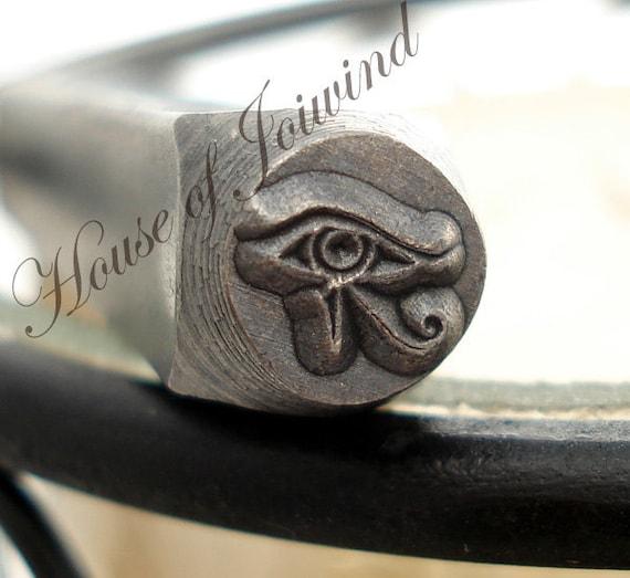 EYE of HORUS Design Metal Stamp Punch - BEADSMITH