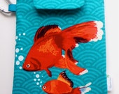 """LAST ONE - Kindle Touch Case / Nook Color Cover / Kobo / eReader Cover / Water Resistant Padded -""""Goldfish"""" SALE"""
