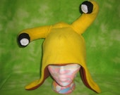 Flawed Character Beans, The Oregon Banana Slug Beanie hat Now UCSC Sammy approved