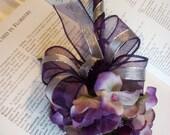 Purple Flower Pen Bridal Guest Book Signing Wedding Accessories Reception favor decor