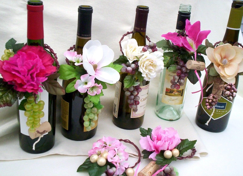 Wedding flowers alternative centerpieces
