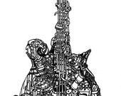 Mandolin no. 4 - Limited Edition