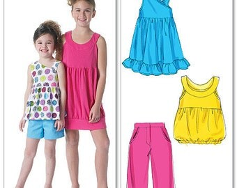 Summer Sportswear for Girls - McCalls 6315 - Out-of-Print Sewing Pattern