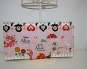 Alice in Wonderland Fun in Pink Everyday Wallet