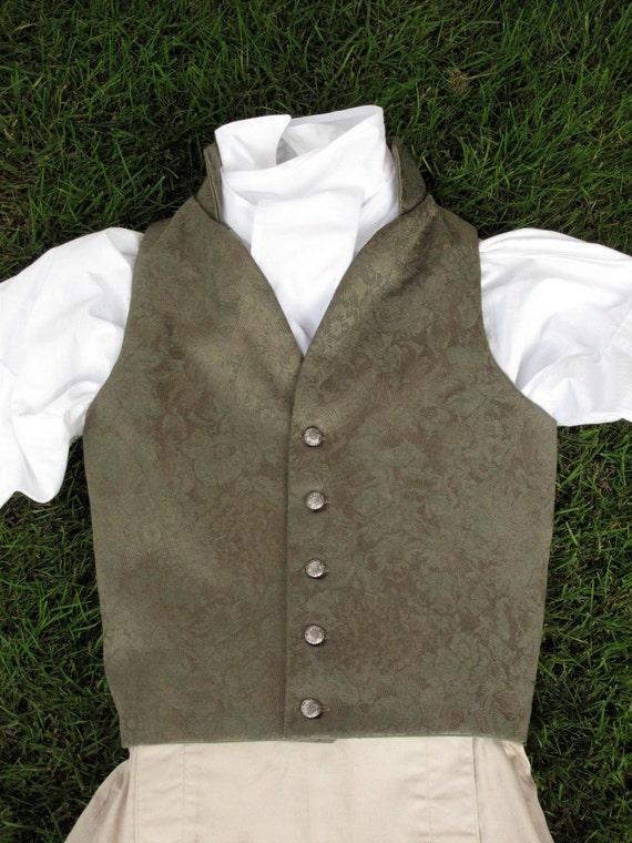 Youth's Regency Style Waistcoat