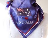 Vintage Scarf Australia souvenir