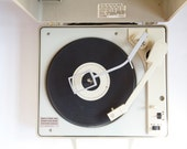Vintage GE Portable  Record Player