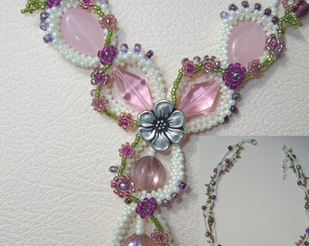 Unique, Elegant and Handcrafted Beaded Necklace