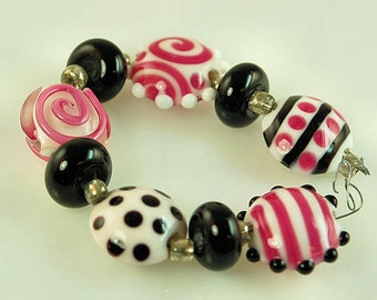 High Quality Artisan Handcrafted Lampwork Beads - 9 Beads