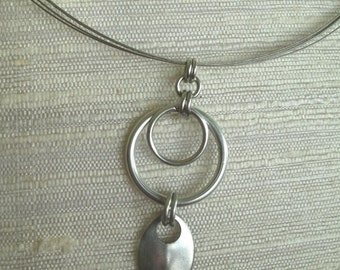 Chainmaille Hoop Necklace