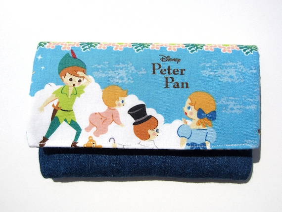Padded IPhone/ iPod Touch/ Cell phone/ camera/ gadget holder - Peter Pan and Wendy