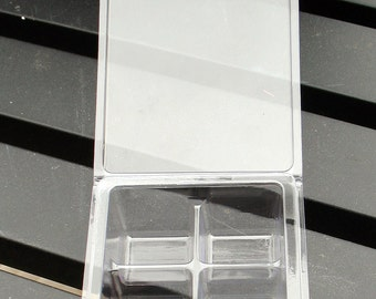 Qty of 175 Mini (approx. 3 oz) 6 Cavity Tart Clamshell Molds - Made in the USA