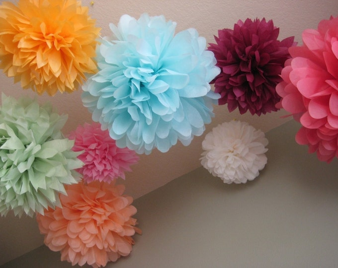 cheap tissue paper pom poms Find the best selection of tissue paper pom poms here at dhgatecom source cheap and high quality products in hundreds of categories wholesale direct from china.