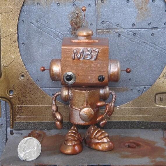 Steampunk Robot M37