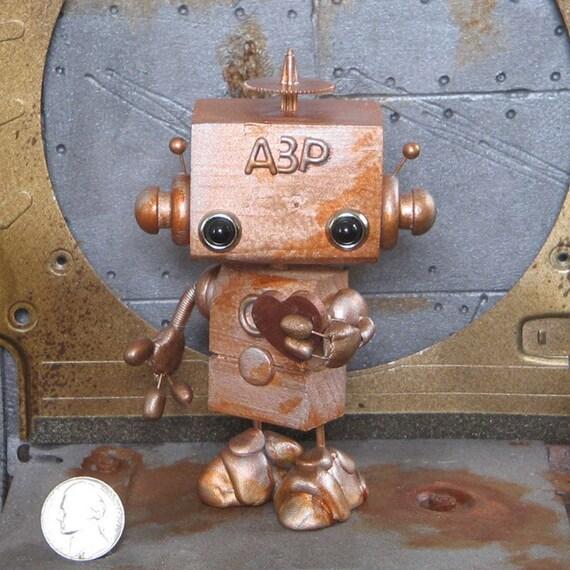 Steampunk Robot A3P