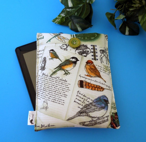 Fabric Sleeve for the Kindle, Nook, Kobo and Sony eReader