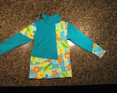 Cozy Tunic 100% organic cotton Child's size small