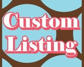 Custom listing for bRidgetterOse