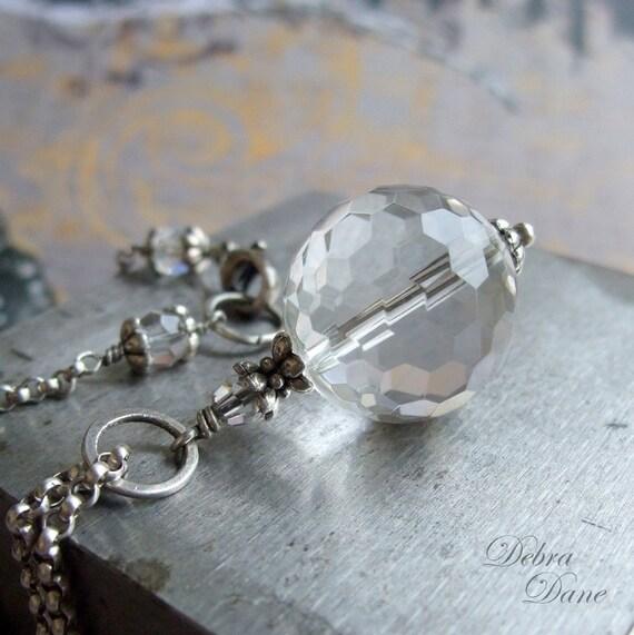 Quartz Crystal Ball Crystal Quartz Necklace