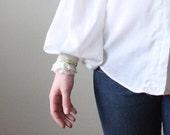 bohemian blouse - vintage 1970's peasant blouse