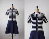 1960s dress - nautical mod day dress