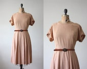 1960s dress - full skirt day dress